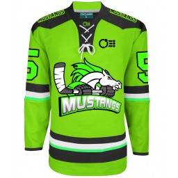 Mustangs Ice Hockey Jersey