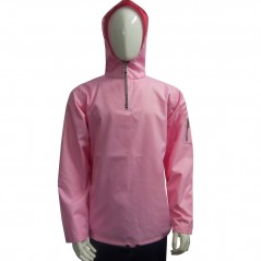 Anorak Jacket with Back Pocket