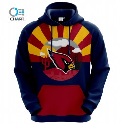 NFL Team Arizona Cardinals Sublimation Hoodie