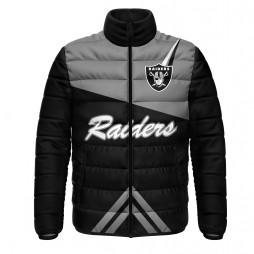 Las Vegas Raiders Team Puffer Jacket