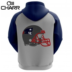 New England Patriots Sublimated Hoodie