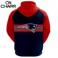 New England Patriots Team Sublimation Hoodie