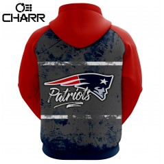 NFL Team New England Patriots Sublimation Hoodies