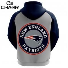 Custom Sublimated New England Patriots Hoodies