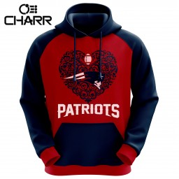 Team New England Patriots Sublimation Hoodies