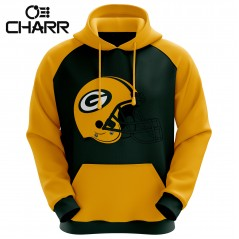 Green Bay Packers Sublimated Hoodie