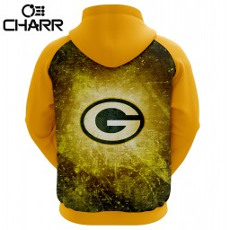 Team Green Bay Packers Sublimation Hoodie