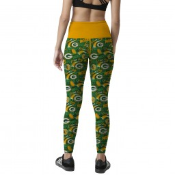 NFL Team Green Bay Packers Sublimation Legging