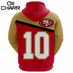 San Francisco 49ers Sublimated Hoodie