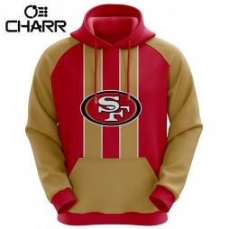 NFL Team San Francisco 49ers Sublimation Hoodies