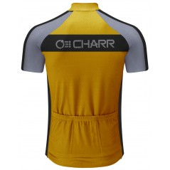 Yellow Black Cycling Jersey