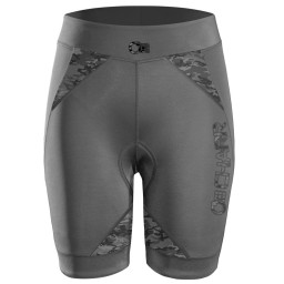 Gray Cycling Shorts